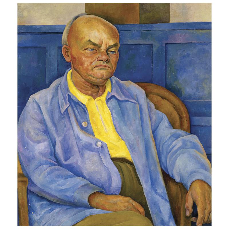 portrait of dr otto ruhle retrato del dr otto ruhle 1940 latin american art. Black Bedroom Furniture Sets. Home Design Ideas
